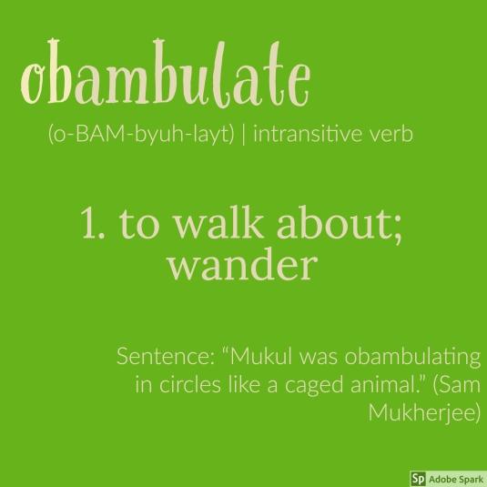 obambulate